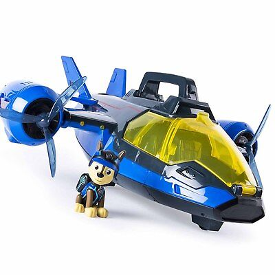 Paw Patrol Rescue Mission Paw Air Patroller Helicopter Plane Chase Figure Toy
