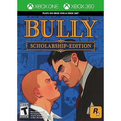 Bully: Scholarship Edition (Xbox One & Xbox 360 Compatitble) Xbox 360 [Brand New