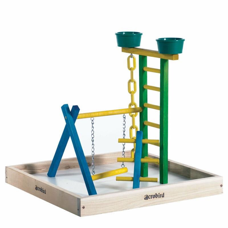 "Caitec Acrobird Small Bird Playground, 18"" Base"