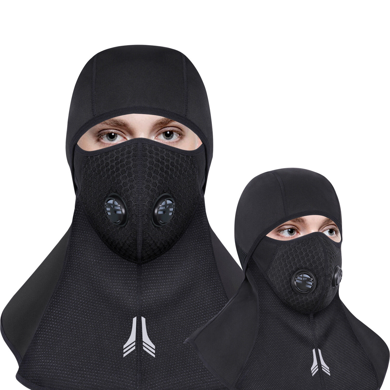 Balaclava Full Face Zipper Mask Cycling Hunting Ski Thermal