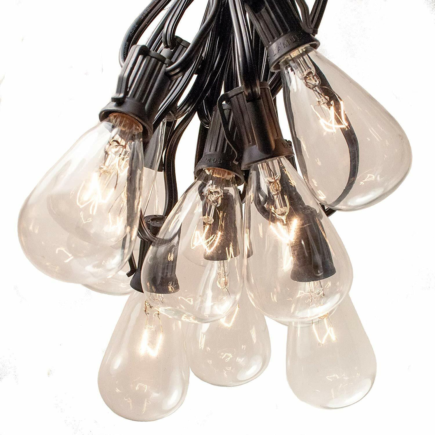 Vintage Outdoor Patio String Lights