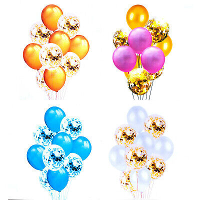 Confetti Balloon and Latex Balloon Party Supply Decoration for Wedding, Events - Balloons And Confetti