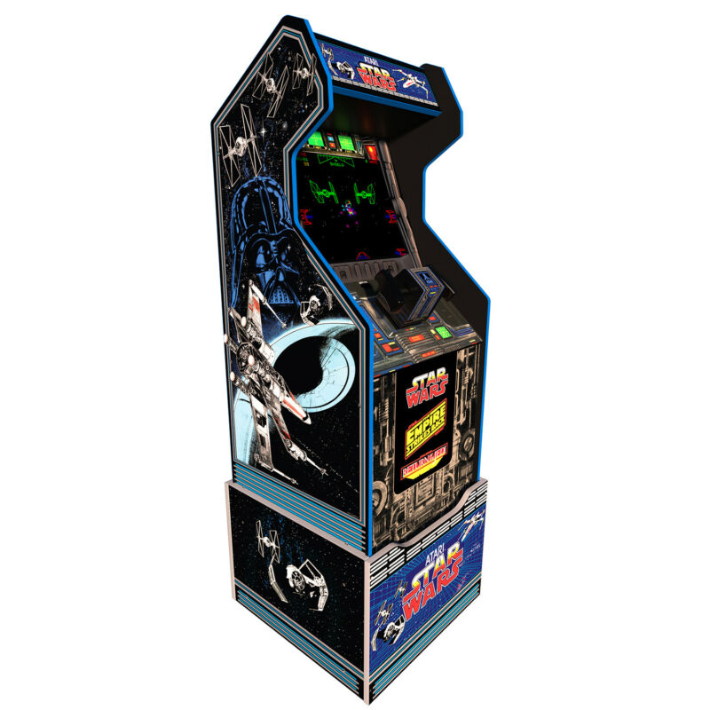 Arcade1Up - Star Wars Home Arcade Cabinet with Custom Riser [Brand New]