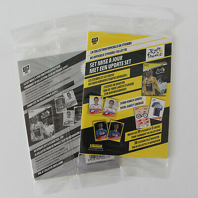 PANINI sealed UPDATE SET | TOUR de FRANCE 2019  | 30 extra stickers + 2 cards