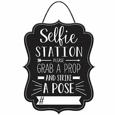 Graduation Photo Booth Party Customizable Hashtag Selfie Sign Prop - Photo Booth Props Graduation