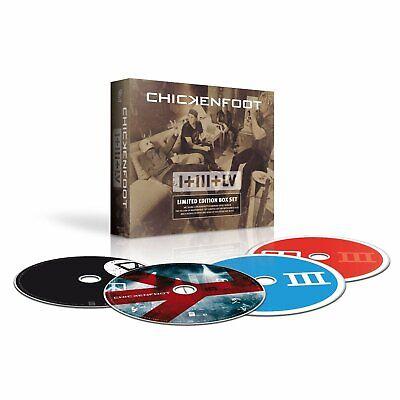 CHICKENFOOT - I + III + LV  (3 CDs + DVD 2012)  JOE SATRIANI / SAMMY HAGAR