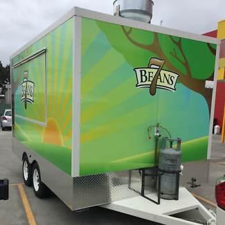 4000 x 2400 x 2200 High Food Van Trailer - For Sale