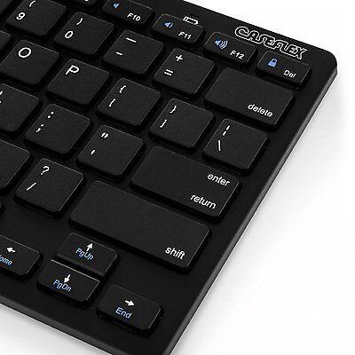 Slim Bluetooth Wireless Keyboard (Black) Brand New Sealed.