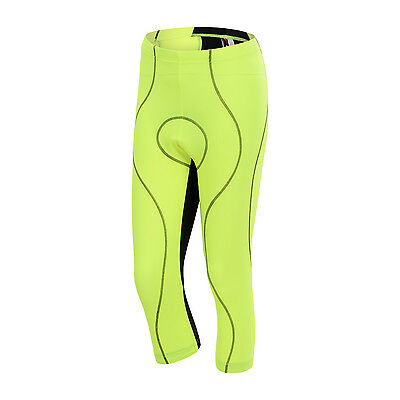 Martha Women's 3/4 Leg Short Pant Cycling Tights Bike Bicycle Capri Shorts Pant