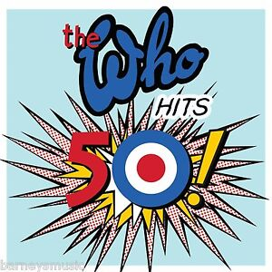 THE WHO ( NEW SEALED 2 x CD SET ) HITS 50 GREATEST HITS / THE VERY BEST OF