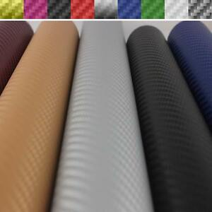 3D-4D-5D-Carbon-Fiber-Vinyl-Film-Wrap-Stickers-1510mm-1270mm-DIY-Various-Colors