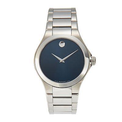Movado 0606335 Men's Defio Silver-Tone Quartz Watch