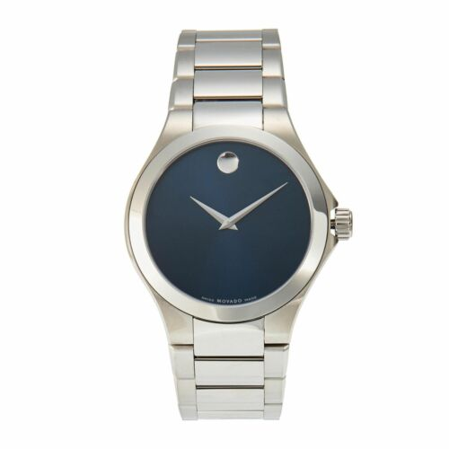 $329.00 - Movado 0606335 Men's Defio Silver-Tone Quartz Watch