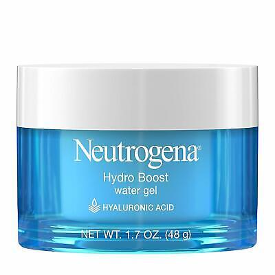 Neutrogena Hydro Boost Water Gel Face Moisturizer, Hyaluronic Gel, 1.7 Oz