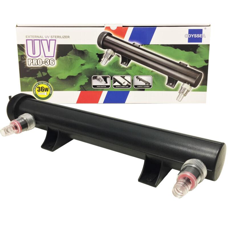 UV Pro 36 Ultraviolet UVC Aquarium Filter 36W Bulb Green Algae Virus Clarifier