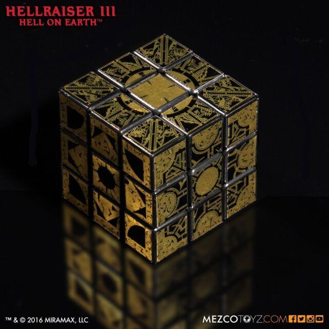 Hellraiser Lament Configuration Puzzle Cube Prop Replica Mezco Hell On Earth