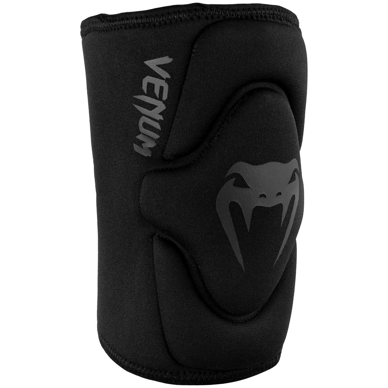 Venum Kontact Pro Gel Knee Pads Black black Pair Support BJJ