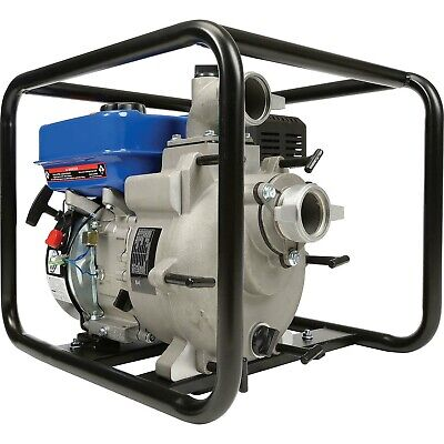 Portable Water Trash Pump - 2 In And Out - 34 Solids - 158 Gpm - 7 Hp - Gas