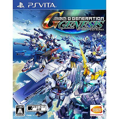 SD Gundam G Generation Genesis PS Vita SONY JAPANESE NEW