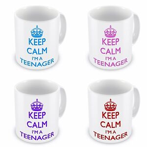 Keep-Calm-Im-A-Teenager-Mug-Blue-Pink-Purple-Red