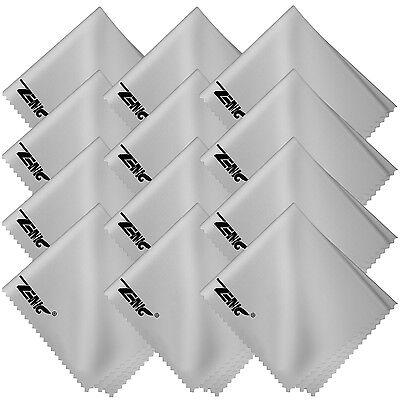 6PACK Microfiber Cleaning Cloths Soft for DSLR Camera Lens Glasses TV LCD Screen