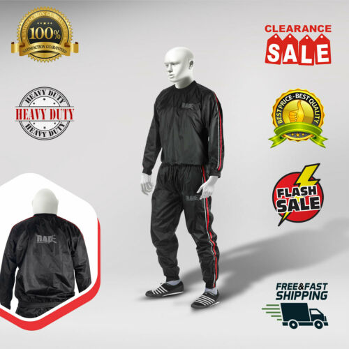 RAD Sauna Suit Men and Women Weight loss, Sweat Sauna Suit Gym Boxing, Anti-Rip