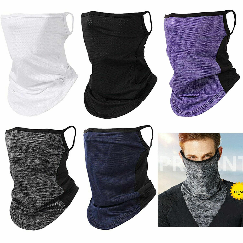 Outdoor Sports Balaclava Neck Gaiter Face Mask Neck Tube Bandana Scarf Headwear Clothing, Shoes & Accessories