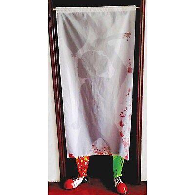 Creepy Clown es Tür Vorhang - Beine & - Halloween Clown Schuhe