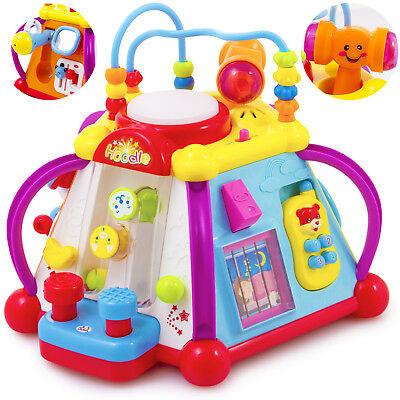 Interactive Bildungs Cube Spielzenter Babyspielzeug 20VERSCHIEDENE SPIELE KP3707