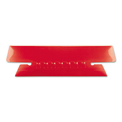 Pendaflex Hanging File Folder Tabs 13 Tab 3 12 Inch Red Tabwhite Insert 25