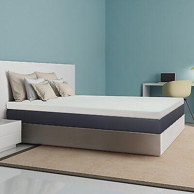 Best Price Mattress 4-Inch Memory Foam Mattress Topper, King