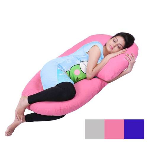 C Shape Total Body Pregnancy Pillow Sleep Maternity Comfort