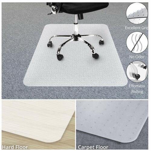 Durable PVC Chair Mat Office Wood Hard Floor Protection Comp