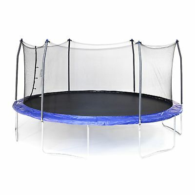 17' OVAL Skywalker Trampoline and Enclosure 170 sq. ft. jumping surface -
