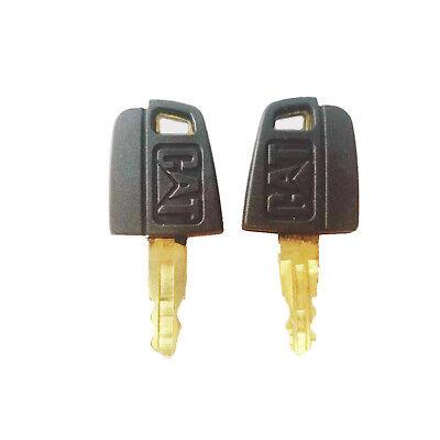 2 Ignition Key 5p8500 For Caterpillar Cat Heavy Equipment Dozer Roller Paver