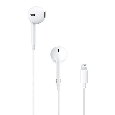 Genuine NEW Apple EarPods Earbud Lightning Headphones iPhone 7 Plus 8+ 9 X A1748