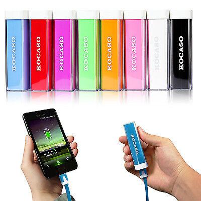 2600mAh USB External Portable Backup Battery Charger Power Bank for Mobile Phone ()