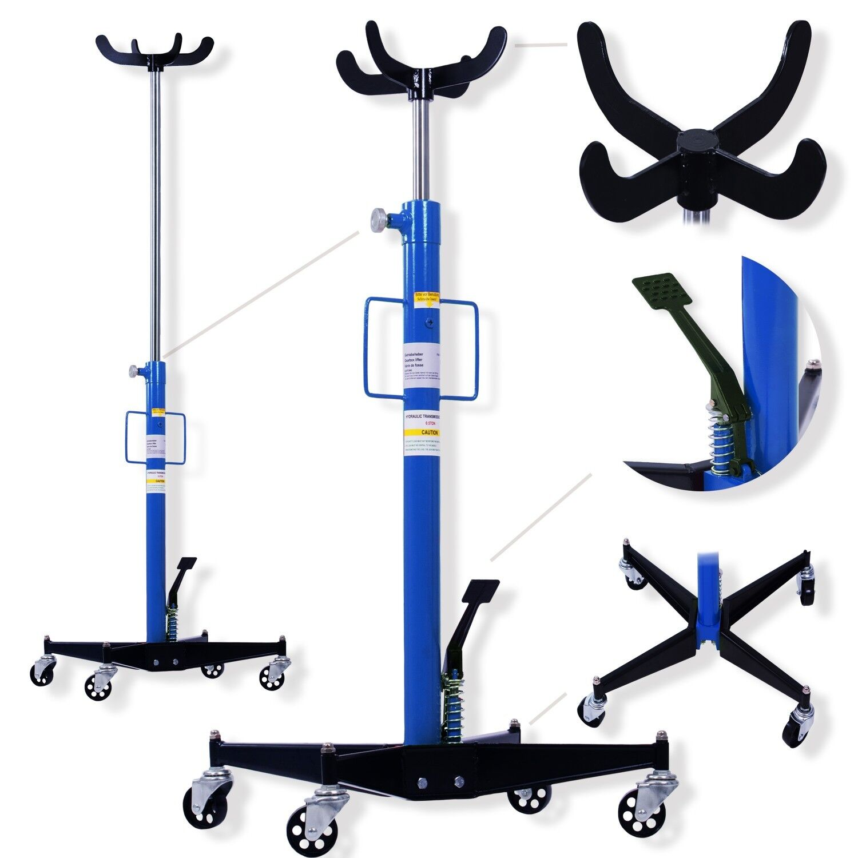 Sollevatore idraulico da fossa a a pedale per sottoponte fino a 500 kg 0,5 Ton a