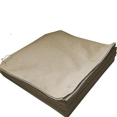 1000 BROWN KRAFT PAPER BAGS STRUNG (10