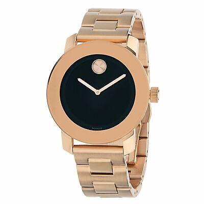 Movado 3600463 Unisex Bold  Black Quartz Watch