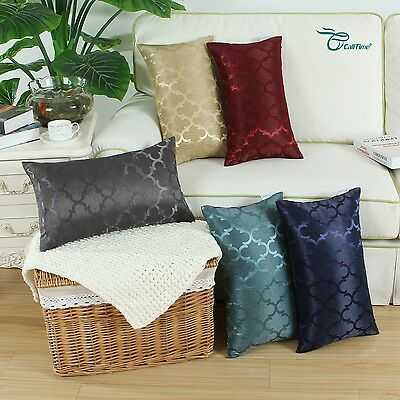 "12x20"" CaliTime Chains Accent Geo Reversible Throw Cushion C"