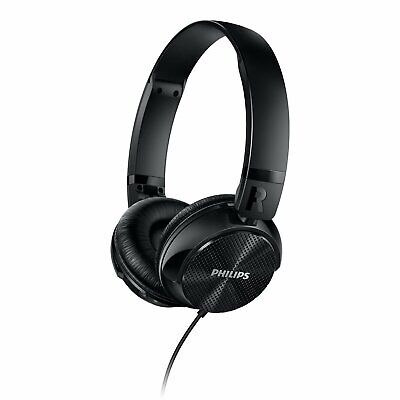 Philips SHL3750NC/27 Noise Cancellation Headphones, Black NEW