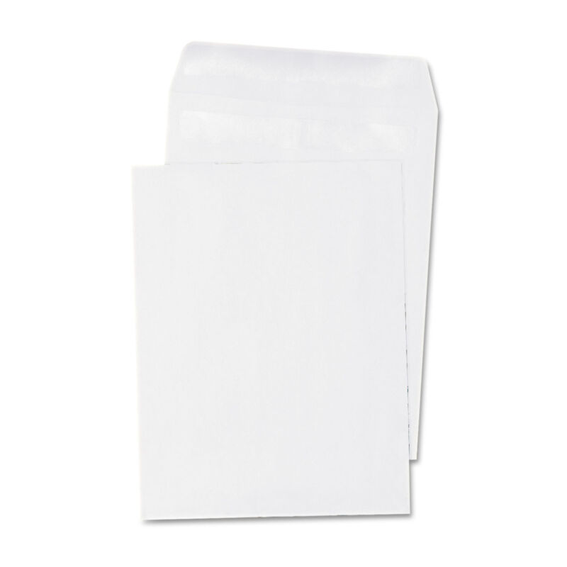 UNIVERSAL Self Seal Catalog Envelope 12 x 15 1/2 White 100/Box 42103