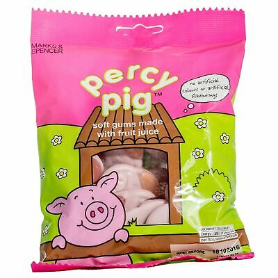 Marks & Spencer Percy Pig - Chewy Soft Gum Pig Sweets 170g