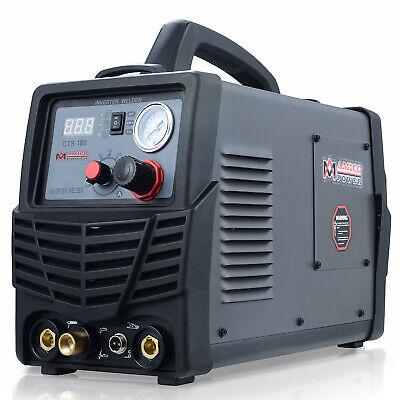 Amico Cts-180 3-in-1 40 Amp Plasma Cutter 180a Tig-torch 160a Stick Welder New