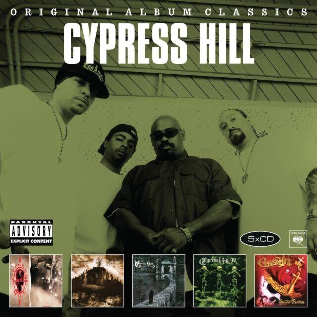 CYPRESS HILL - ORIGINAL ALBUM CLASSICS 5 CD NEU