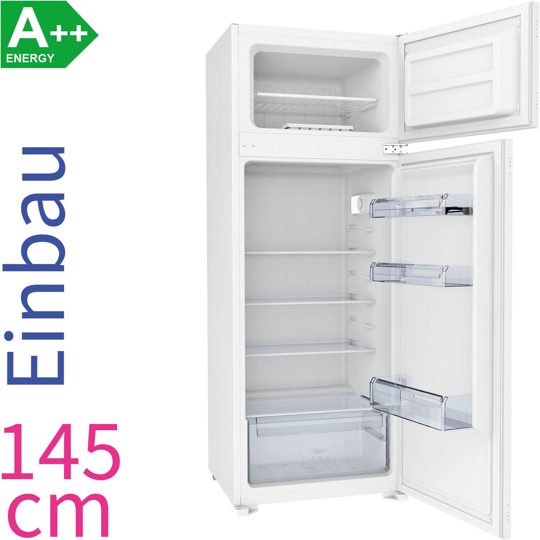Gorenje A++ 145 cm Einbau Kühl-/ Gefrierkombination Integrierbar LED Kühlschrank
