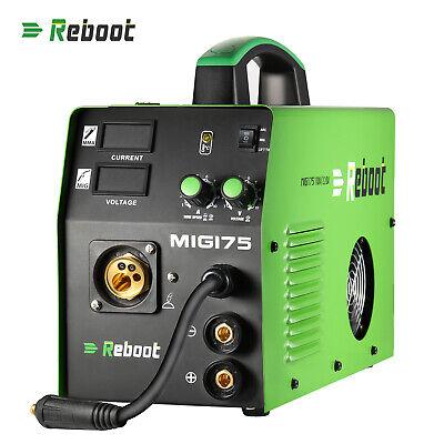 Mig Welder Gasnot Gas 220110v Stick Lift Tig 3-in-1 Welding Machine Mig-175