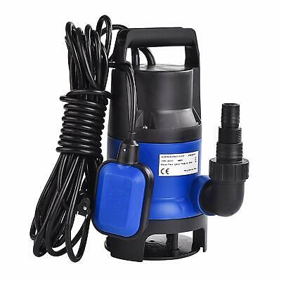 12 Hp Submersible Water Pump 2112gph Swimming Pool Dirty Flood Clean Pond 400w