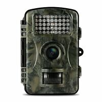 Trail Camera, Wildlife Hunting Surveillance Game Camera 12mp 1080p Hd Scouting -  - ebay.co.uk